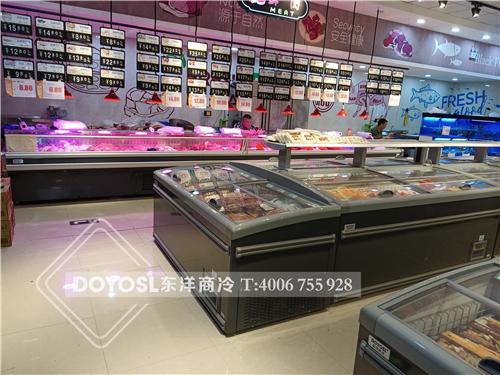 浙江省嘉兴市海宁市超市冷柜-商超系列案例