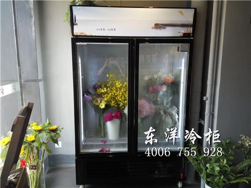 深圳坂田鲜花展示柜案例