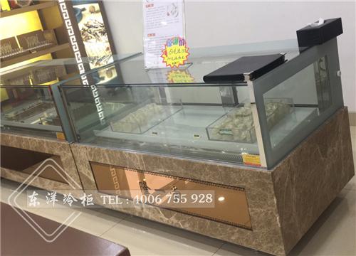 辽宁隆一堂海参虫草展示柜工程案例