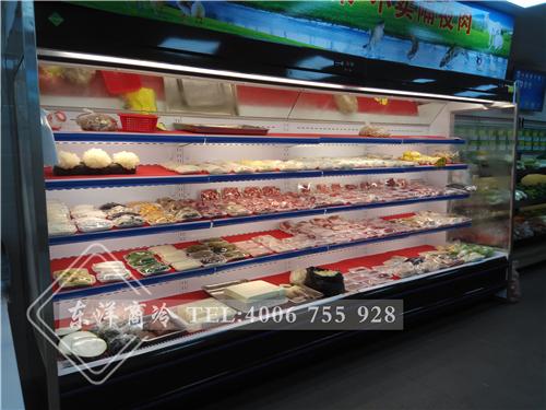 深圳菜极鲜生鲜连锁-东洋鲜肉展示柜工程案例
