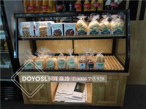深圳巴黎天使面包展示柜-中心岛柜-蛋糕彩神Ⅴll下载-边岛柜-双门冷藏柜工程案例