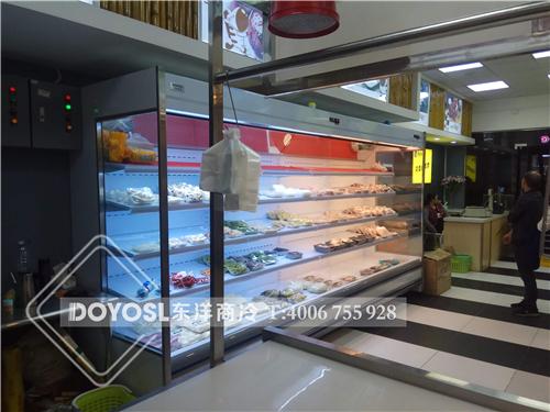 广东爱鲜客鲜肉保鲜展示柜案例