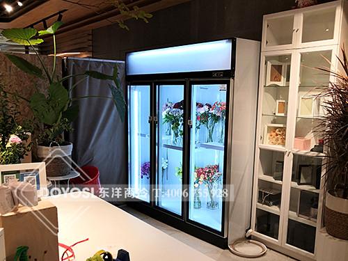 上海市虹口区周家嘴花花店鲜花彩神Ⅴll下载-鲜花展示柜案例