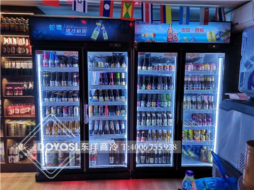 广东省深圳市南山区杰安易购饮料展示柜-饮料冷藏柜案例