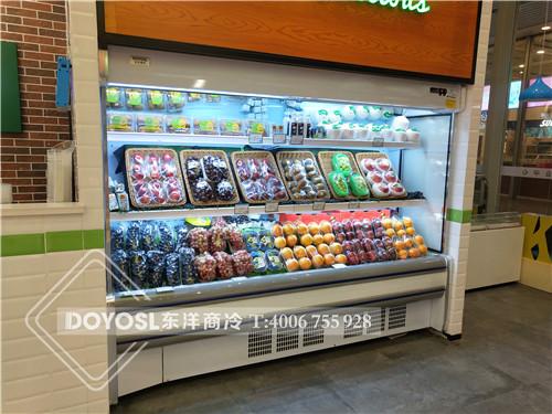 上海市闵行区鲜丰水果水果展示柜-水果彩神Ⅴll下载案例