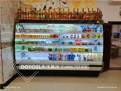 上海市市辖区闵行区华漕镇超市冷柜案例