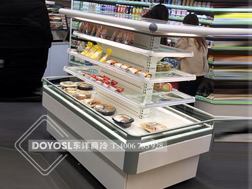 浙江省杭州市江干区美宜佳面包彩神Ⅴll下载-盒装熟食展示柜案例
