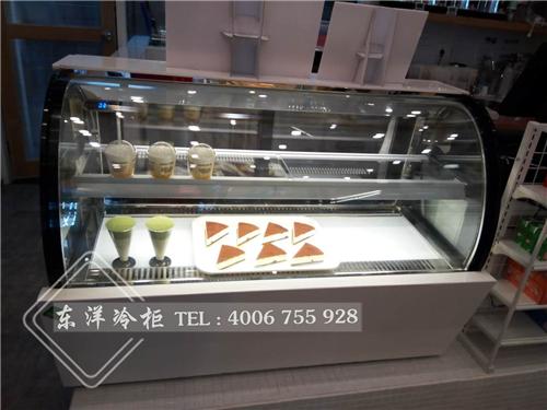 广州燕塘牛奶蛋糕展示柜-东洋面包柜-冷藏展示柜工程案例