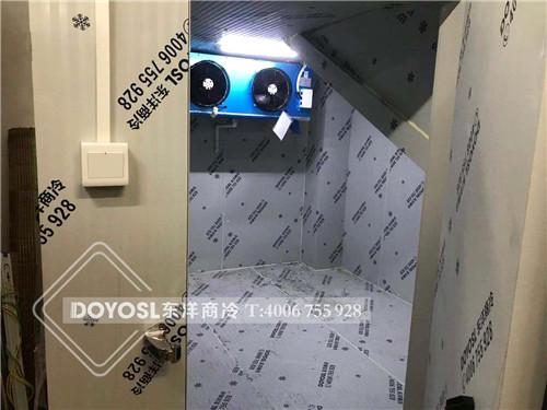 中山市三乡镇东市场小型冷藏库-冷冻库案例