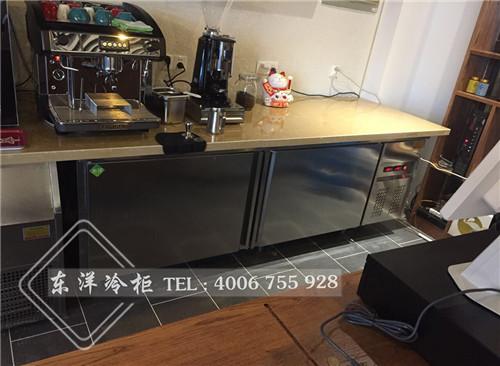 江苏苏州操作台冷柜-商用制冰机-单弧蛋糕柜工程案例