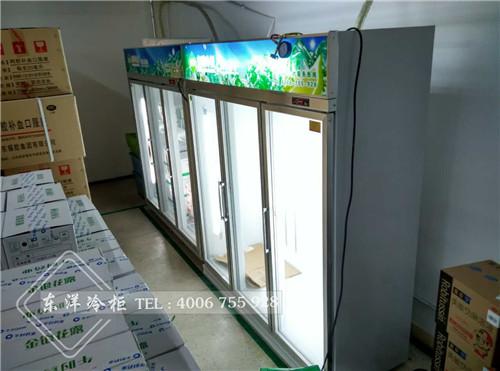 广州海王星辰药品三门冷柜/药品展示冷柜工程案例
