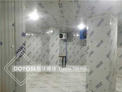 广州市荔湾区田间苑小区卡士牛奶冷藏库-卡士牛奶保鲜库案例