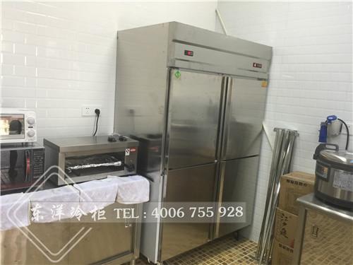 深圳龙华新区抽屉不锈钢工作台尺寸/厨房冷柜厂家/东洋商用冷柜工程案例