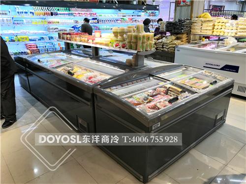 上海市闵行区易客商超冷柜-超市冷藏柜案例