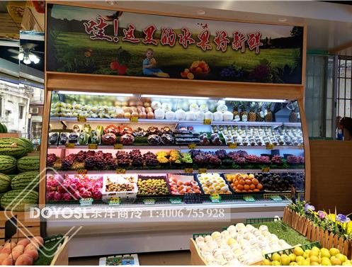 水果风幕柜和直冷柜的区别