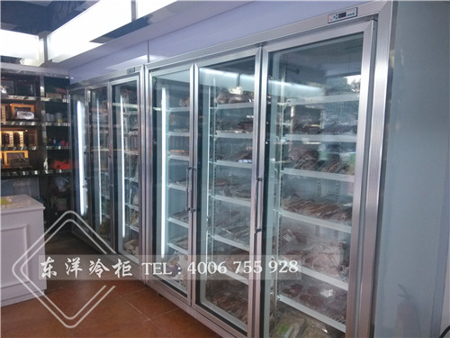东洋品牌超市冷冻展示柜获商超商户喜爱