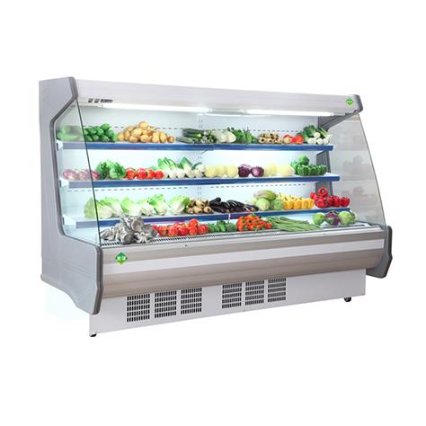 954款蔬菜风幕柜