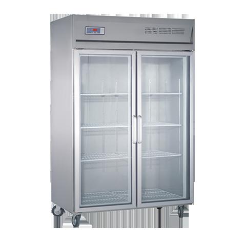 216款双门不锈钢冷柜