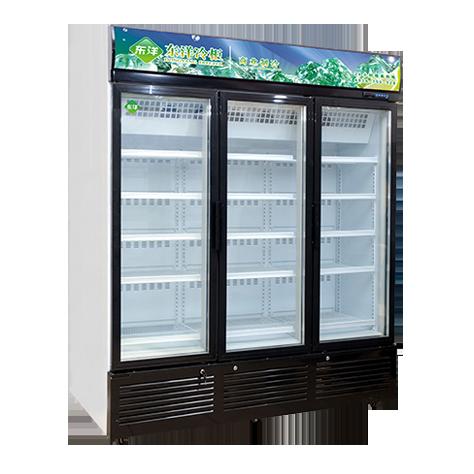 922款三门立式冷冻柜